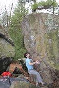 Rock Climbing Photo: Thomas Scupp on the sit start