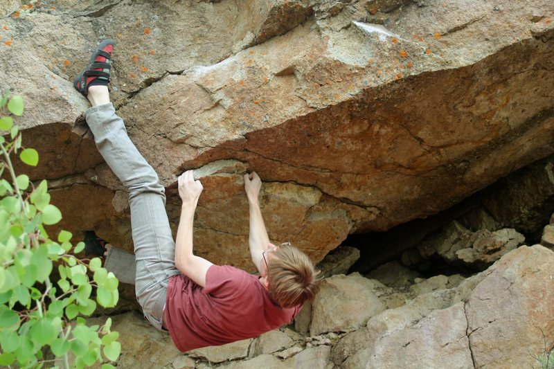 Rock Climbing Photo: The start holds