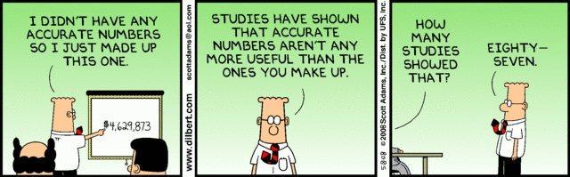 Rock Climbing Photo: Dilbert statistics