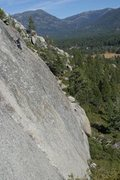 Rock Climbing Photo: The Pie Shop, South Lake Tahoe. The route is calle...