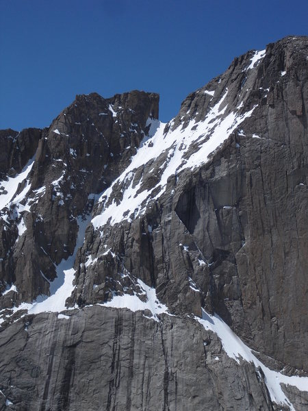 Rock Climbing Photo: Notch Couloir.