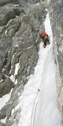 Rock Climbing Photo: Modica-Noury SuperGoullotte.  Mont Blanc De Tacul,...