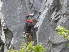 Rock Climbing Photo: Start of Macguffin