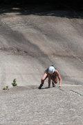 Rock Climbing Photo: lily on pitch 2
