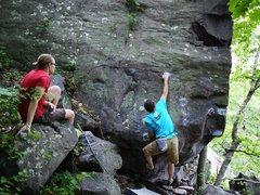 Rock Climbing Photo: Ian on So Dope Direct original beta.