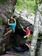 Rock Climbing Photo: Ian on COD.