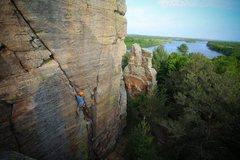Rock Climbing Photo: Ryan on Y-crack. Photo: Giulia Bartolotta