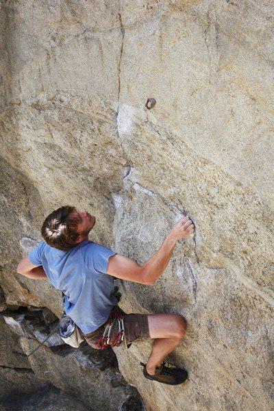 Rock Climbing Photo: Joseph Lascurain on Ground Zero. Photo - Michael L...