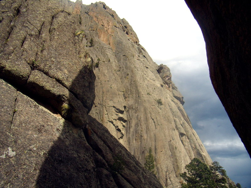 Climbers on Osiris - Lumpy Ridge - June 17th 2011