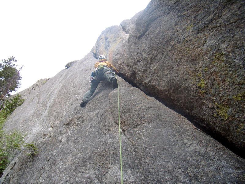 Alan Ream The Bookmark- Lumpy Ridge - June 17th 2011 - photo by John Klooster