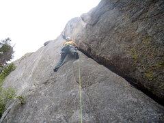 Rock Climbing Photo: Alan Ream The Bookmark- Lumpy Ridge - June 17th 20...