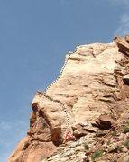 Rock Climbing Photo: A)The Great White Ridge.