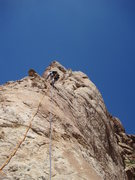 Rock Climbing Photo: Andy on P2