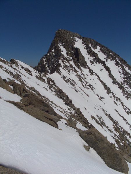 Rock Climbing Photo: West face of Mt Sill, 06/2011