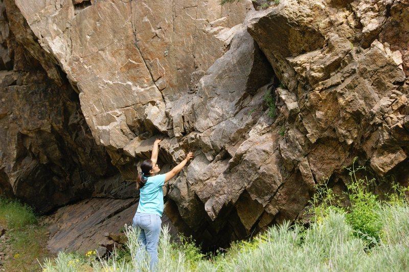 Rock Climbing Photo: Ice Wall