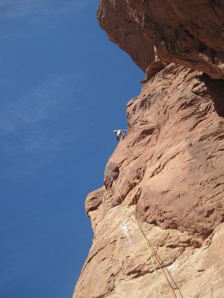 Rock Climbing Photo: Andy on P3