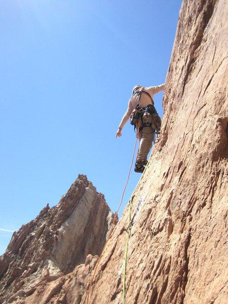 Back on the ridge P4