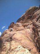 Rock Climbing Photo: On P5