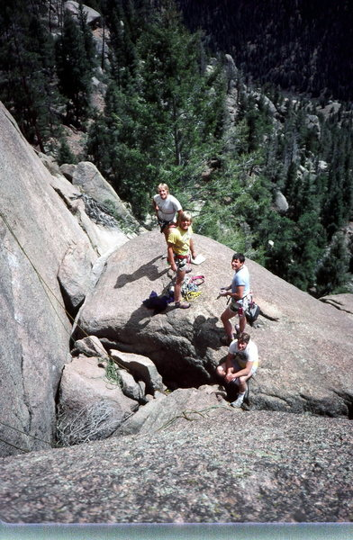 Rock Climbing Photo: Pack Of Platte Rats Photo: Olaf Mitchell
