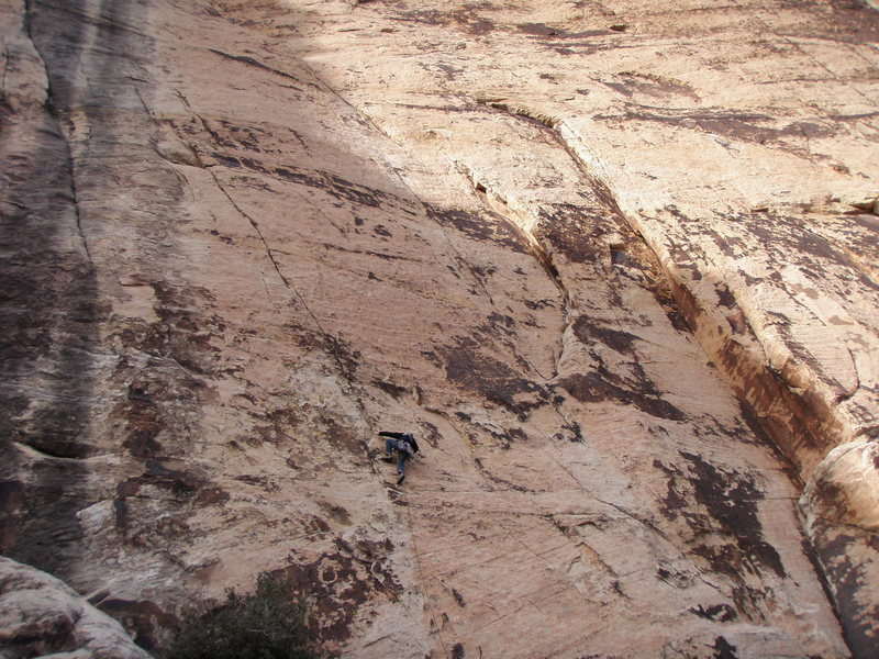 Cool route, thin second pitch.