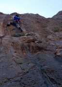Rock Climbing Photo: Ken on Espresso.