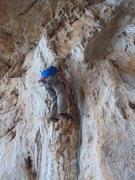 Rock Climbing Photo: Ken on Furno.