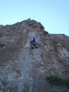 Rock Climbing Photo: Ken on Fredo.
