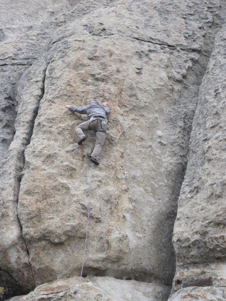 Rock Climbing Photo: Built for Comfort