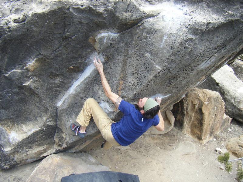 Rock Climbing Photo: Chips, V7, Joe's