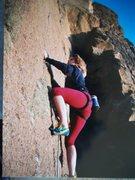 Rock Climbing Photo: wild woman on WIld Women