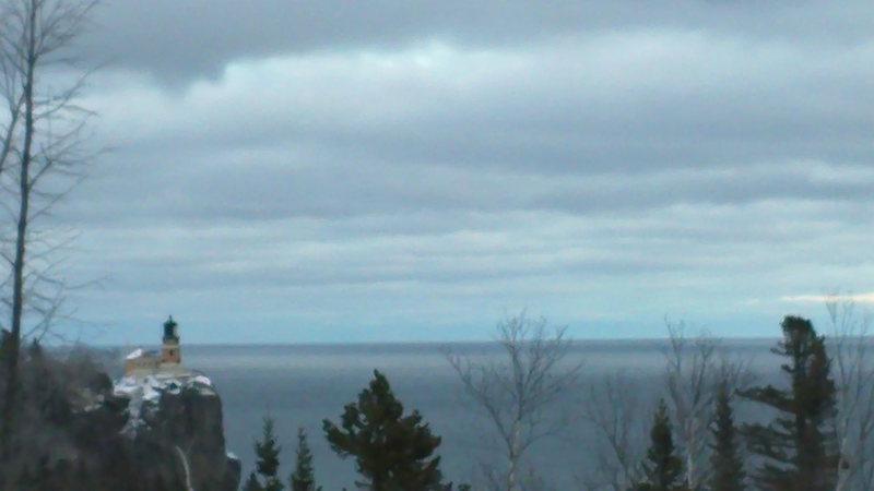 Rock Climbing Photo: Lake Superior
