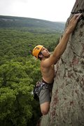 """Rock Climbing Photo: Ryan """"Jungle Dog"""" Strong stays on the st..."""