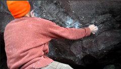 Rock Climbing Photo: The Battleship start