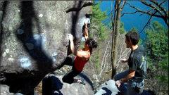 Rock Climbing Photo: Katie sending So Dope