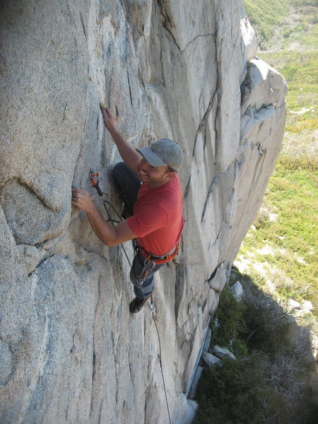 Rock Climbing Photo: Nathan Fitzhugh having some fun on Neil's not Youn...