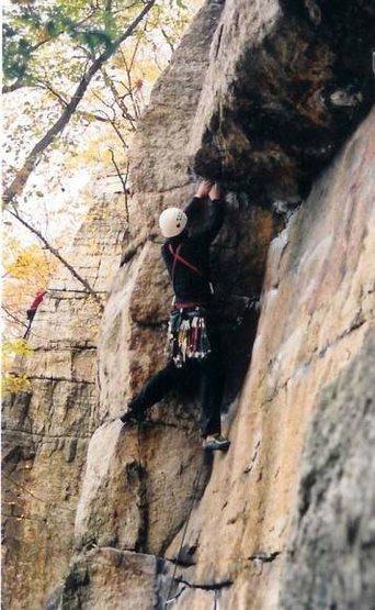 Rock Climbing Photo: retribution, gunks NY
