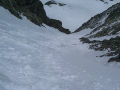 Rock Climbing Photo: Lost Rat Couloir, Grays Peak, Colorado