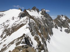Rock Climbing Photo: The Polemonium Glacier, Polemonium Peak, North Pal...