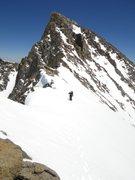 Rock Climbing Photo: Davi Rivas on the southeast ridge of Polemonium Pe...