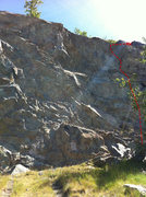 Rock Climbing Photo: Beta Photo for My Little Piggy.  Sorry for the som...