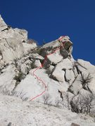 Rock Climbing Photo: Last Shout