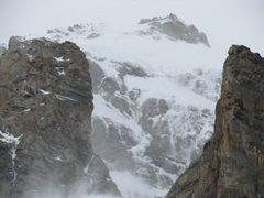 Rock Climbing Photo: Otter Body face, Grand Teton