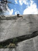 Rock Climbing Photo: Matt at the flake. Photo by Blitzo.