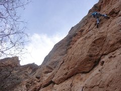 Rock Climbing Photo: Sitting Bull Falls