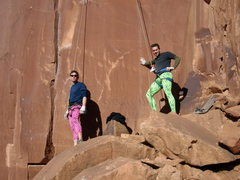 Rock Climbing Photo: We make this look good. Ok, kinda good?