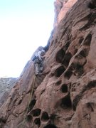 Rock Climbing Photo: Andy at the start