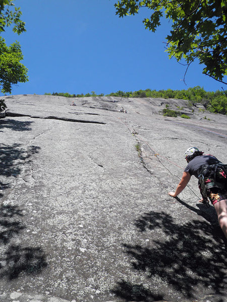 Rock Climbing Photo: Pitch 1, Screaming Meaney