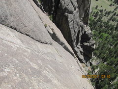 Rock Climbing Photo: awesome diehedral P2 Hiautus