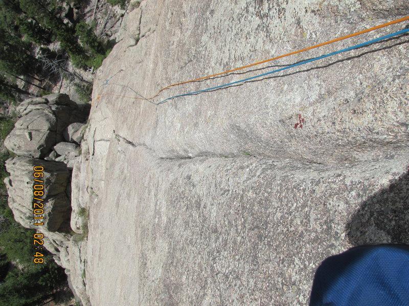 Rock Climbing Photo: melvins wheel 5.8 awsomeness