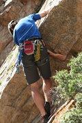 Rock Climbing Photo: Jake Werner...first hard move!